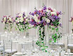 Elegant Florida Wedding in Shades of Purple