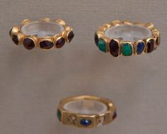 ancient roman jewelry british museum - Gold rings with stones, Roman, AD Antique Rings, Antique Jewelry, Gold Jewelry, Jewelry Rings, Vintage Jewelry, Renaissance Jewelry, Medieval Jewelry, Ancient Jewelry, Wiccan Jewelry