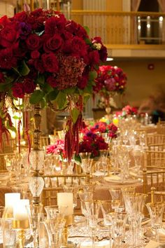 tall wedding centerpieces.  Flowers of Charlotte loves this! Find us at…