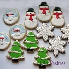 christmas holiday cookies by wendy.grieshaber