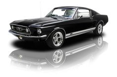 1967 Ford Mustang GT Black