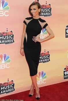 Giuliana Rancic dress style at iHeartRadio Music Awards #dailymail