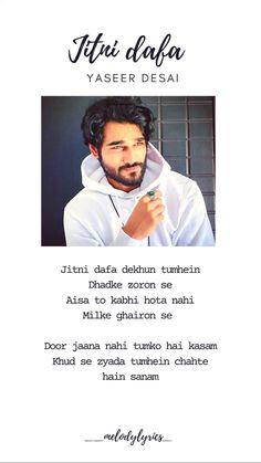 song jitni dafa by yaseer desai from movie parmanu. Instagram reels #story #post #reels