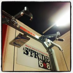 And the Keiser Halfrack is now fully installed, new chin up handles with assist!