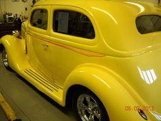 1935 Ford Slant Back Ford V8, Classic Mustang, Hot Rod Trucks, Henry Ford, Yellow Submarine, Sweet Cars, Street Rods, Kustom, Car Detailing