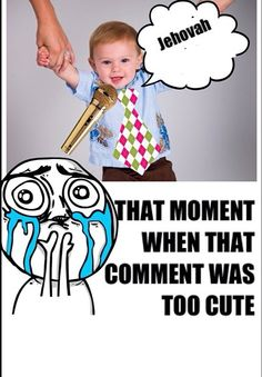 This is me whenever Xander comments. He just started commenting when after our move in February. So proud of him!!