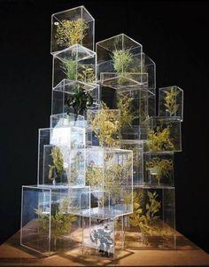 Gallery MA / Nogizaka, Tokyo Sou Fujimoto: Futures of the Future (rp by ) Interaktives Design, Fleur Design, Deco Design, Display Design, Booth Design, Event Design, Floral Design, Vitrine Design, Instalation Art