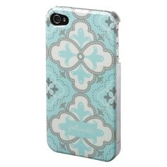 Petunia Pickle Bottom Adorn iPhone 4 Case Classically Crete