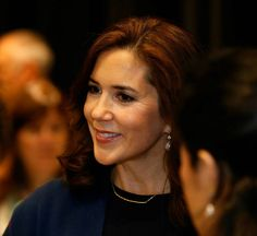 Crown Princess Mary of Denmark attended 65th session of the WHO (World Health Organization) Regional Committee Meeting in Vilnius, Lithuania 2015-09-14