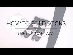 Marie kondo youtube konmari method pinterest how to fold