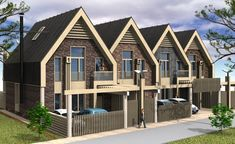 Townhouse, Outdoor Structures, Cabin, Doors, House Styles, Exterior, Apartments, Home Decor, House Template
