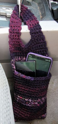 Car Organizer/Door Knob Organizer Cozy - easy but so practical!