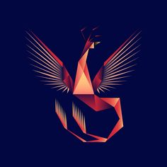 geometric phoenix drawing - Google Search