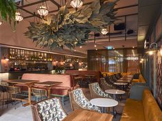 Proje Arşivi - MPA Web Sitesi Ceiling Decor, Ceiling Lights, Hunter Street, University Of Sydney, Shop Fronts, Hospitality Design, Cafe Bar, Beautiful Space, Shop Ideas
