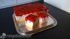 Érdekel a receptje? Kattints a képre! Torte Cake, Hungarian Recipes, Sweet And Salty, Cake Cookies, Cheesecake, Food And Drink, Cooking Recipes, Pudding, Sweets