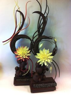 Professional 1-metre chocolate showpiece