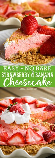 No Bake Strawberry B