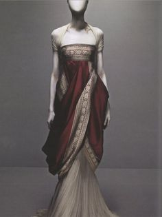 layers, in the style of Roman Empress