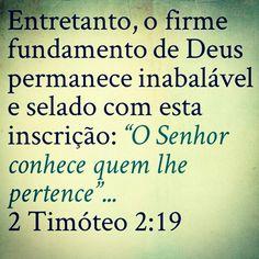 2 Timóteo 2 : 19