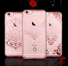iPhone 6/6S and 6S Plus Diamond Henna Case