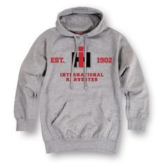 Steeped in tradition with roots that trace all the way back to the turn of the century. Pay homage to the hardworking farmers and the machines that worked the American Heartland and grab this hoodie t