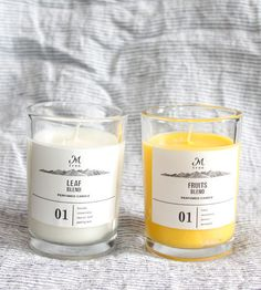 Soy based candles by M Tree.