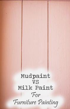 MudPaint VS Milk Paint
