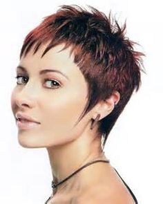Spiky Hairstyles 2018 - Ladies Which Short Hair Style Preferred in 2017 | Page 7 of 8