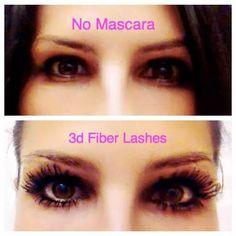 3D fiber lash mascara. Order now www.flashthatlash.com