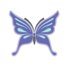 Butterfly Machine Embroidery Design by OCDEmbroidery on Etsy