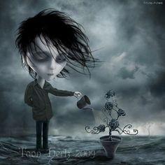 Gothic Fantasy Art, Dark Fantasy, Illustrations, Illustration Art, Mark Ryden, Dark Artwork, Goth Art, Dark Gothic, Pop Surrealism