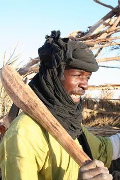 Tuareg man from Libya