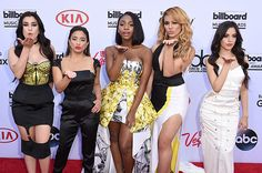 2015 BBMAs red carpet today:Fifth Harmony girls Lauren, Ally, Normani, Dinah-Jane & Camila