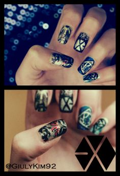 When it comes to using their hands, KPOP fans are pretty talented and artistic. Especially when theyre representing their beloved idols! Today were featuring some of their fantastic skills by displaying some of their fabulous KPOP-inspired nail art designs; Check them out!