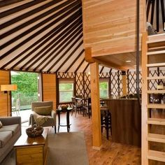 Coastal Living design Yurt