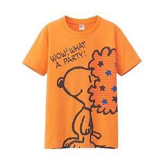 KIDS UNISEX Peanuts Short Sleeve Graphic T-Shirt