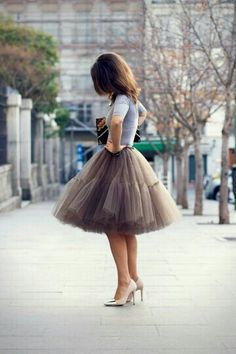Falsos de cueca, tutús, enaguas. Faldas de tul.