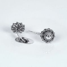 Zilveren Manchetknopen met Zeeuwse Knoop 16mm
