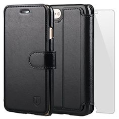 TANNC iPhone 7 Case Flip Leather Wallet Phone Case [Screen Protector Included][Card Slot][Flip][Wallet] - For iPhone 7- Black  http://topcellulardeals.com/product/tannc-iphone-7-case/?attribute_pa_color=black-1  COMPATIBILITY – This case is ONLY designed for iPhone 7 PREMIUM QUALITY MATERIAL – Combined with upmarket design, this classic vintage-style phone cover is crafted in thick luxurious micro-leather that provides excellent protection against accidental drops