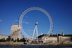 The London Eye----A Landmark for the new Millennium. The structure was designed by the architectural team of David Marks and Julia Barfield, husband and wife. They submitted their idea for a large observation wheel as part of a competition to design a landmark for the new millennium. None of the entrants won the competition, but the couple pressed on and eventually got the backing of British Airways, who sponsored the project.