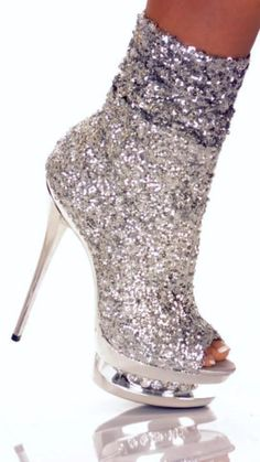 Trendy High Heels For Ladies : Sparkly heels Prom Heels, Sexy Heels, Stiletto Heels, High Heels, Shoes Heels, Sparkly Heels, Cute Shoes, Me Too Shoes, Bootie Boots