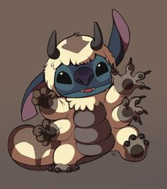 Appa Suit Stitch by HappyCrumble.deviantart.com