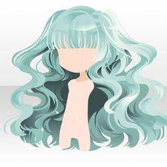 Fantasting Drawing Hairstyles For Characters Ideas. Amazing Drawing Hairstyles For Characters Ideas. Bangs Wavy Hair, Character Inspiration, Hair Inspiration, Pelo Anime, Chibi Hair, Manga Hair, Rides Front, Cocoppa Play, Kawaii Chibi