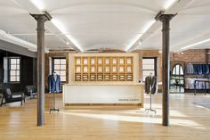 Proper Cloth Offices by Fogarty Finger, New York City – USA » Retail Design Blog