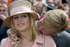 Maxima and Willem-Alexander - I told you Willem, no matter how pale you are, you are NOT a vampire!