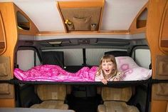 Cabbunk Motorhome Childs Bunk Bed for Fiat Ducato Ford Transit or Renault Master