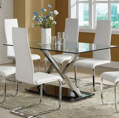 $499 102320 Dining Table modern dining tables