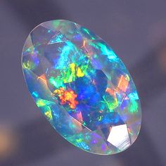 Faceted Crystal Opal