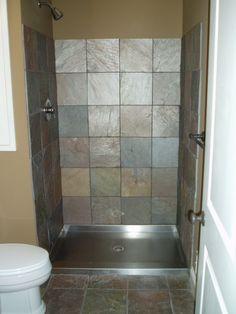 78 Best Doorless Shower Images Restroom Decoration