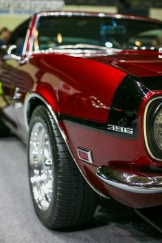 Ever thought about replacing your fender engine size emblems with mirror-polished stainless steel ones? Check out Morris Classic's offerings at www.morrisclassic.com!